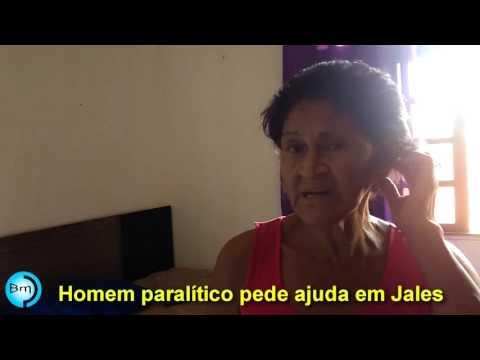 Jales - Idoso de 83 anos, paralítico há sete anos (7) passa por dificuldades em Jales e pede ajuda.