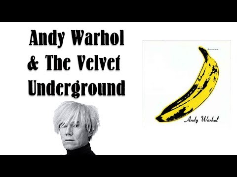 How Andy Warhol Created the Velvet Underground's Iconic Banana - Rock Art #3