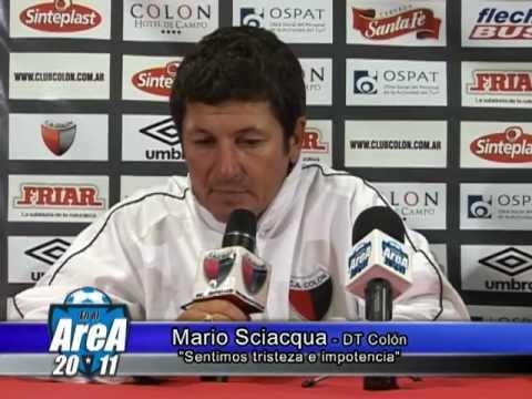 Mario Sciaqua habla sobre el rendimiento de su equipo