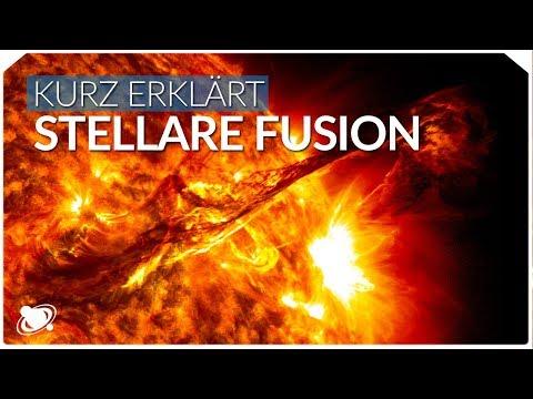 Fusion in Sternen | Einfach Erklärt