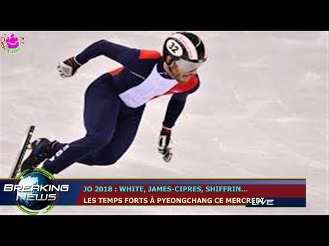JO 2018 : WHITE, JAMES-CIPRES, SHIFFRIN…  LES TEMPS FORTS À PYEONGCHANG CE MERCREDI