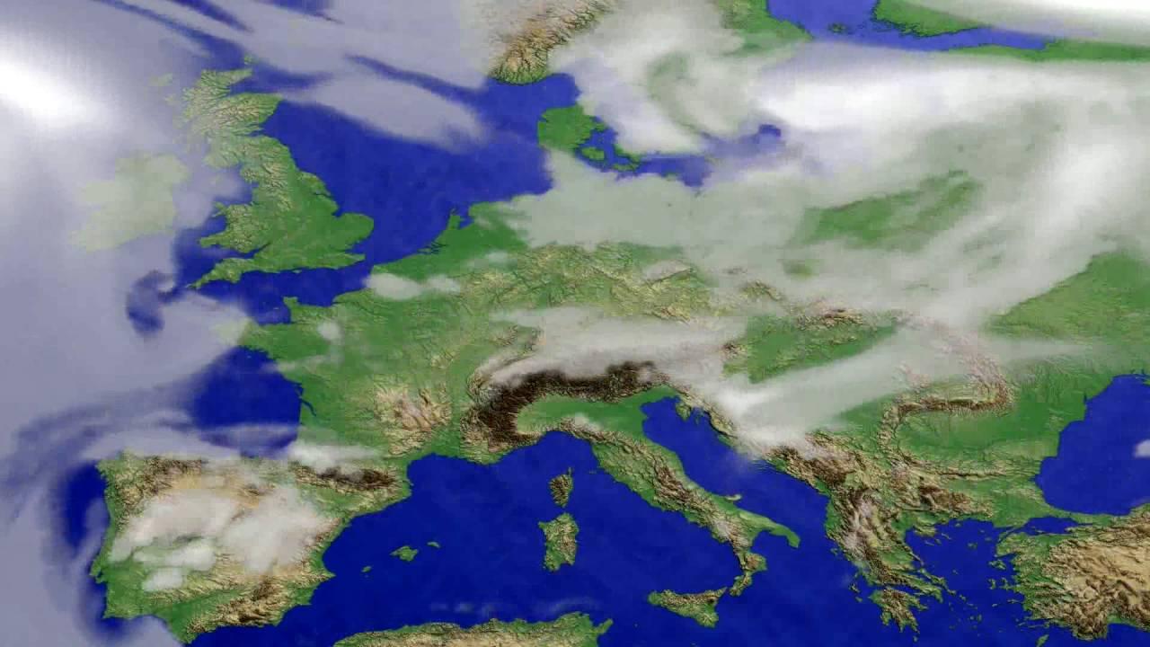Cloud forecast Europe 2016-07-02