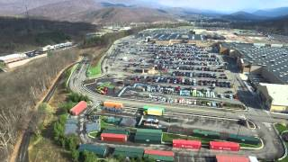 LaVale (MD) United States  city photos : DJI Inspire 1 Drone at the Country Club Mall, LaVale (Cumberland) Maryland 4k