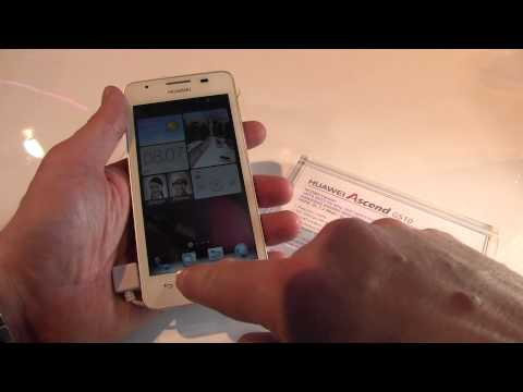 Youtube Video Huawei Ascend G510 schwarz