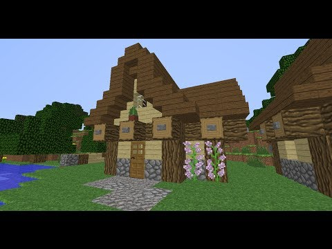 Simple medieval house tutorial minecraft project for Is it easy to build a house