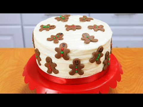 Gingerbread Man Cake + Holiday Baking Giveaway #3!!- Dalya Rubin -  It's Raining Flour Episode 110