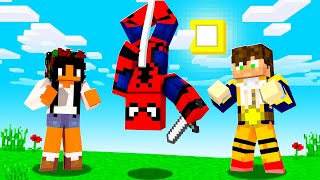 Playing As Spiderman In Crazy Craft | JeromeASF
