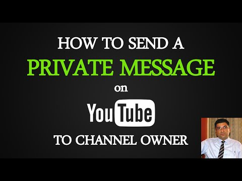 Watch 'How to Send a Private Message on Youtube to Channel Owner - YouTube'