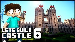 Minecraft Lets Build: Castle - Part 6