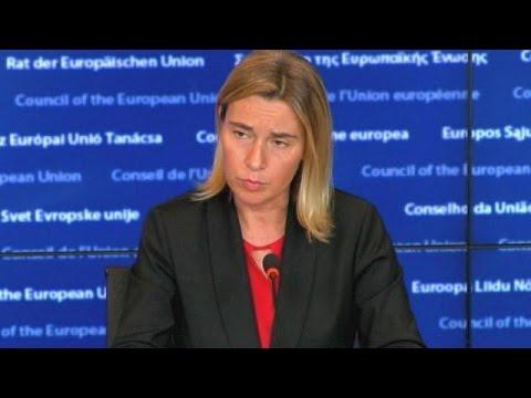 Η ΕΕ καλεί τη Ρωσία να σταματήσει τους βομβαρδισμούς στη Συρία