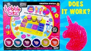 I open a Bobble Bitz creation station craft kit to try out the crunchy molding compound! Mold the dough into shapes and let it dry to save your designs! Watch to see if it works!Subscribe to Toy Reviews For You: bit.ly/1CyaPemFollow MeInstagram: http://instagram.com/toyreviewsforyouTwitter: https://twitter.com/ToyReviews4YouFacebook  https://www.facebook.com/pages/Toy-Reviews-For-You/119789888191540Music is from Audioblocks.com and the Youtube Library