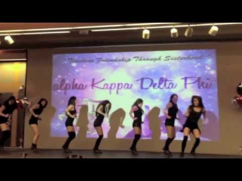 Stroll - Rutgers akdphi at DPO's 4th annual Stop, Step, and Stroll Competition! Thank you to the beautiful sisters of Delta Phi Omega for hosting a fun event. Our dan...