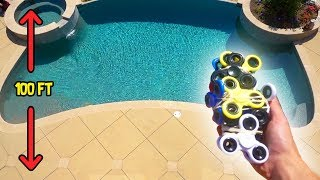 """WHAT DO YOU THINK WILL HAPPEN??So today I decided to wrap my iPhone with fidget spinners and do a drop test from my roof! Do you think the iPhone will break or survive the drop?! Let me know if you guys wanna see more experiments like this :D Love you guys!• SUBSCRIBE IF YOU'RE NEW - http://bit.ly/SubToRugAdd me on Snapchat! """"thefazerug""""Follow me on my Social Media to stay connected!Twitter - https://twitter.com/FaZeRugInstagram - https://instagram.com/rugfazeSnapchat - """"thefazerug"""" (Add me to see how I live my daily life) :DIf you read this far down the description I love you"""
