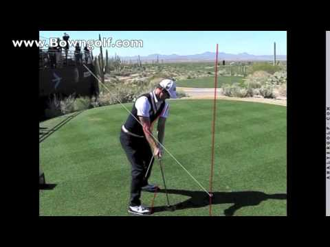 Adam Scott - http://www.bowngolf.com US Masters 2013 Champion Adam Scott swing analysis. Slow motion swing dtl. David Bown of Bown Golf Academy shows you what you can lea...