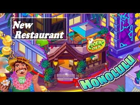 Cooking Craze /Honolulu- New Restaurant/ Levels 71, 75, 80, 81