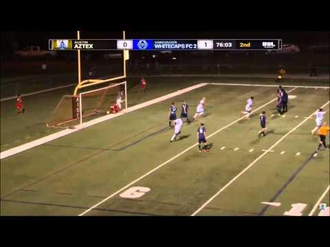 Video: 6-foot-5 centre back Craig Nitti rocket free kick goal