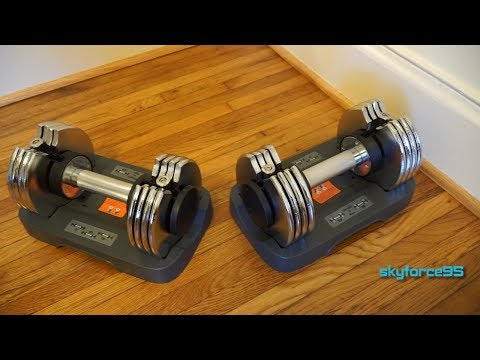 Bayou Fitness Adjustable Dumbbells 5-25 lb Review