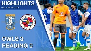 Sheffield Wednesday 3 Reading 0 | Extended highlights | 2017/18