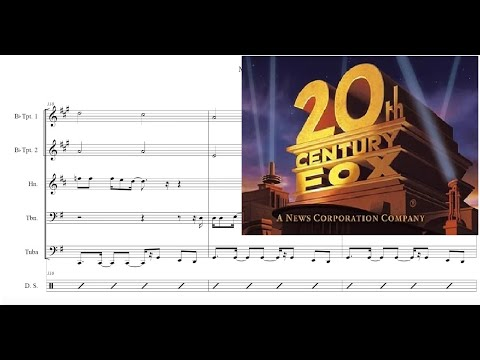 Movie Themes For Brass Quintet Sheet Music