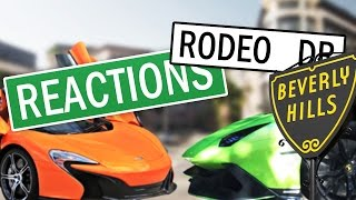 REACTION on Rodeo Drive: Lamborghini Aventador & Mclaren 650S [Reaction Video #16] by DoctaM3's Supercars Personified