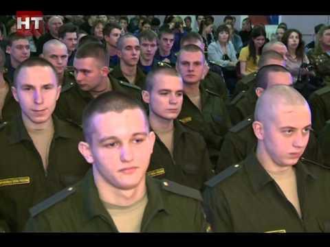 Новгородские призывники отправились служить в элитные подразделения российских Вооруженных сил