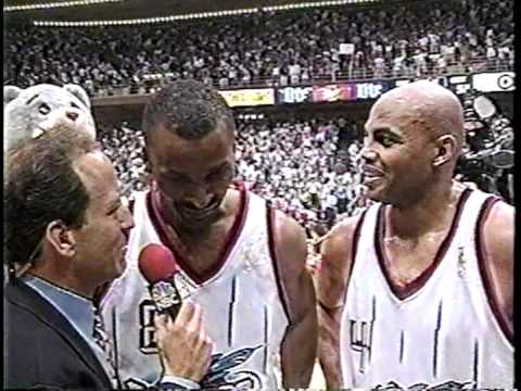 Eddie Johnson Game-Winning Three - Game 4 - '97 Conference Finals
