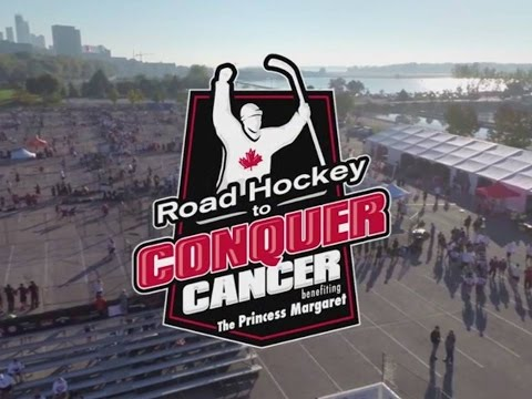Road Hockey to Conquer Cancer 2014