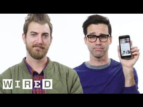 Rhett & Link Show Us the Last Thing on Their Phones | WIRED