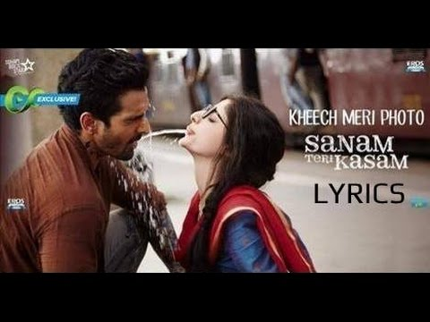Video Kheech Meri Photo LYRICS | Darshan Raval | Sanam Teri Kasam | FULL SONG download in MP3, 3GP, MP4, WEBM, AVI, FLV January 2017