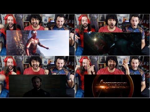 Marvel Studios' AVENGERS: INFINITY WAR Official TRAILER REACTION!!!