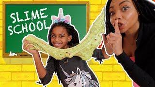 Video Will Naiah and Elli PASS or FAIL Slime School Test Day? New Toy School MP3, 3GP, MP4, WEBM, AVI, FLV Juli 2019