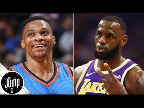 Video: LeBron James, Russell Westbrook and Devin Booker over/unders for 2019-20 | The Jump