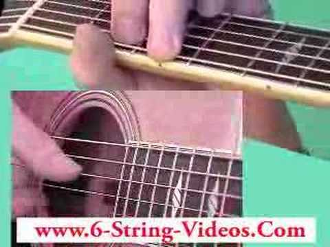Online Acoustic Guitar Lesson – www.6-string-videos.Com