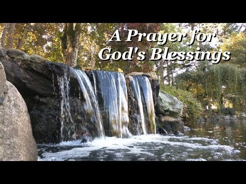 God quotes - A Prayer for God's Blessings