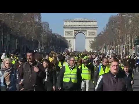 Frankreich: Die Gelbwesten demonstrieren auch nach mehr als drei Monaten noch