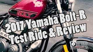 8. 2017 Yamaha Bolt-R Review & Ride