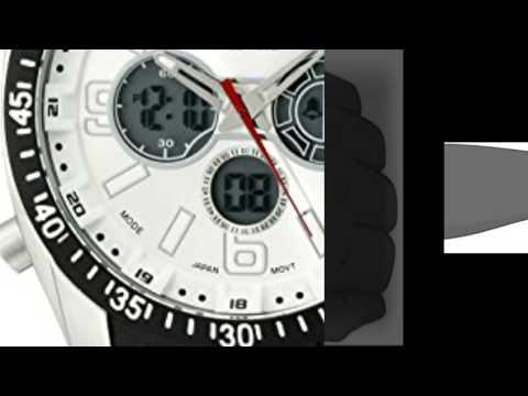 , title : 'U.S. Polo Assn. Sport Men's US9061 Watch with Black Rubber Strap Watch'