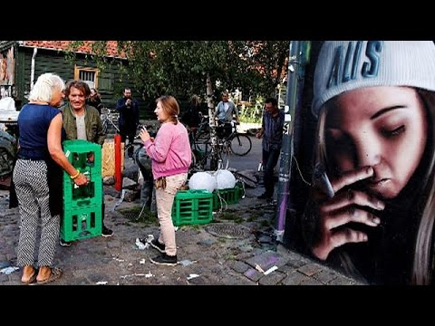 Δανία: Τέλος εποχής για την «ελεύθερη πόλη» της κάνναβης