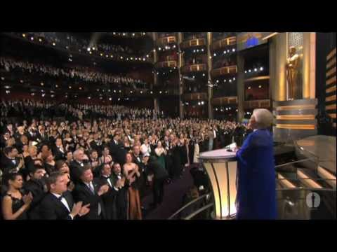 olivia de havilland - Olivia de Havilland presenting the 75th Past Oscar Winner Reunion with 58 other past acting winners, and current acting winners Catherine Zeta-Jones, Nicole ...