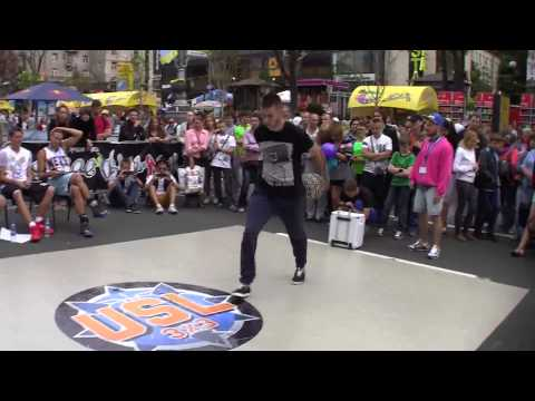 Miha vs PG 44 - International USL Freestyle Battle 2013