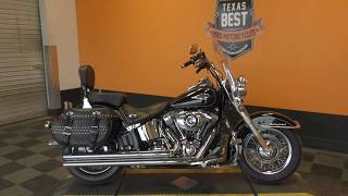 8. 028195   2013 Harley Davidson Heritage Softail Classic   FLSTC - Used motorcycles for sale