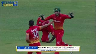 Sikandar Raza starred with the bat and ball to help Zimbabwe edge Sri Lanka by three wickets and clinch a historic series victory...