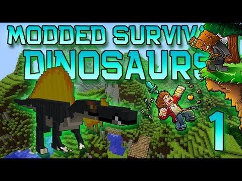 minecraft survival - Play Minecraft on my Server - IP: thenexusmc.net Hey Doods! ♢♢♢ http://bit.ly/SubscribeToMyFridge ♢♢♢ Much Luv :) The first ever episode of my Modded Dinosau...