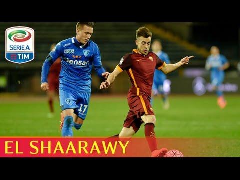 Il gol di El Shaarawy (5') - Empoli - Roma 1-3 - Giornata 27 - Serie A TIM 2015/16
