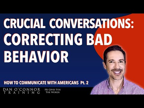 Crucial Conversations: How to Correct Employee Behavior: Free Effective Communication Skills Course