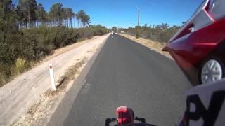 4. Riding At Pinjar | CR125R 2007 | With Mate | CR125R 2002 | Top Speed Run