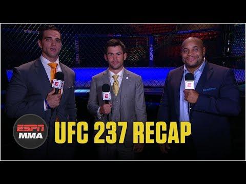 Reaction to Jessica Andrade's slam TKO win vs. Rose Namajunas at UFC 237 | ESPN MMA