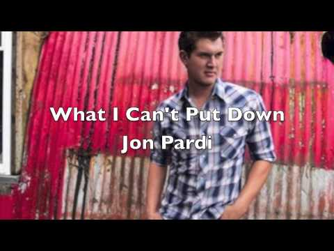 New Tune Tuesday - Jon Pardi: What I can't Put Down