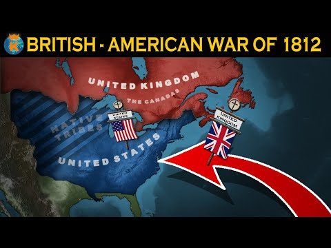 The British-American War of 1812 - Explained in 13 Minutes