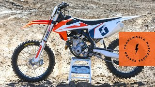 8. Technical Briefing Of The 2019 KTM 350 SX-F